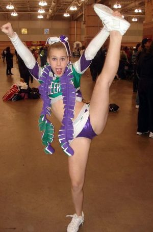 college cheerleader upskirts