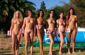 young nudist pageant