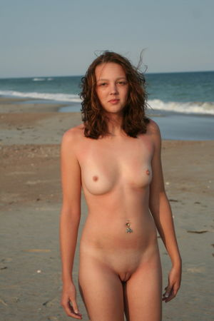 young nudist very