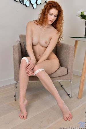 young redhead nude