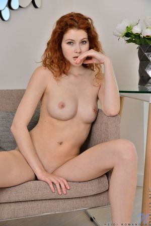 young redhead anal