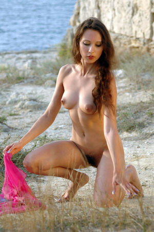 hairy young nudist